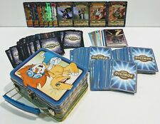 Huge Lot of 153 - 1999 Digimon Card Game Cards TCG First Editions Holofoils Tin