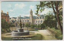 Cumbria postcard - Citadel Station, Carlisle - P/U 1905 (A263)