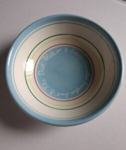 The Diet Plate Soup Bowl Calorie Controlled Breakfast Earthenware Royal Stafford