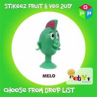 Lidl Stikeez Fruit & Vegetables 2017, full set, collector box stikiz veg