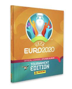 Panini UEFA Euro 2020 2021 Stickers Hardback Hardcover Album