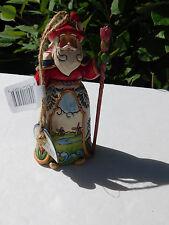 Enesco Jim Shore Santas Around The World Ornament - Dutch Santa 4034400