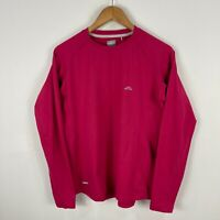 Kathmandu Womens Top14 Pink Long Sleeve Round Neck Fitted