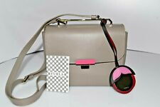 Furla Small Gray/Colored Hardware Crossbody Handbag 0055
