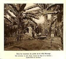 ILE DE LA REUNION EXIL ABD-EL-KRIM RIF MAROC VILLA MORANGE ILLUSTRATION 1926
