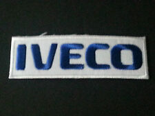 MOTORSPORTS MOTOR RACING SEW/IRON ON PATCH:- IVECO