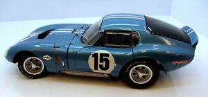 EXOTO 1/18 SHELBY COBRA DAYTONA COUPE 1964 DAN GURNEY #15 Die Cast Model - MIB!