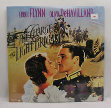 THE CHARGE OF THE LIGHT BRIGADE - LASER DISC - ERROL FLYNN & OLIVIA DeHAVILAND