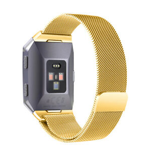 For Fitbit Charge 4 3 2 Ionic Versa Watch Band Replacement Metal Strap Bracelet
