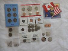 Lot 40+ coins 1876 dime seated liberty buffalo nickel silver Kennedy half dollar