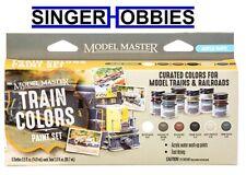 Testors Model Master 6 Color Paint Set, Train Colors TES342300 HH
