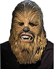 Mens Adults Star Wars Episode 3 Deluxe Chewbacca Full Overhead Costume Mask