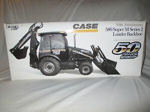 NEW Case Construction 580 Super M Series 2 Loader Backhoe ERTL 50th Anniversary