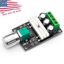 6V 12V 24V 28VDC 6-28VDC 3A 80W PWM DC Motor Speed Controller Regulator US Stock