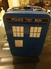 Doctor Who-Tardis en forme de Tin Tote Lunch Box Pour Enfants Cadeau Idéal Pour ...