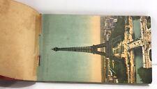 """Ancien Carnet de Cartes postales de Paris """"1900""""  souvenirs"""