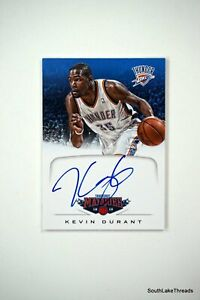 Kevin Durant 2012-13 Marquee Autograph On Card!