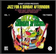 JAZZ ON A SUNDAY AFTERNOON: PIANOS CD ~ BILL EVANS Chick Corea MONK McCOY TYNER