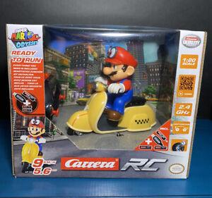 2019 Nintendo Carrera RC Super Mario Odyssey: Mario - Scooter  (2.4 GHz)