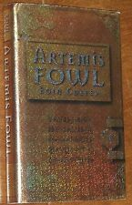 Artemis Fowl - Eoin Colfer SIGNED UK 1st/4th HC/DJ 2001 NEAR FINE!