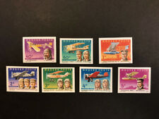 Hungary Scott No. C400-6 MNH Imperforate Imperf Imp Famous Aviators Airplanes