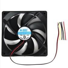 120mm*120*25mm 12V 4Pin DC Brushless PC Computer Case Cooling Fan Heat Sink Nice