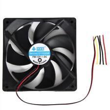 120mm*120*25mm 12V 4Pin DC Brushless PC Computer Case Cooling Fan 1800 PRM 1pcs
