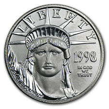 1998 1/4 oz Platinum American Eagle BU - SKU #50375