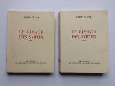 """Julien GRACQ """"Le rivage des Syrtes"""" Imprimerie Nationale Monaco, NUM. Vélin 1953"""