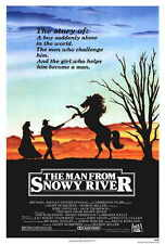 THE MAN FROM SNOWY RIVER Movie POSTER 27x40 Kirk Douglas Tom Burlinson Sigrid