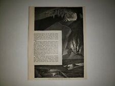 Wyandotte Caves Milroy's Temple Worm Alley Indiana 1879 Sm Sketch Print Rare!
