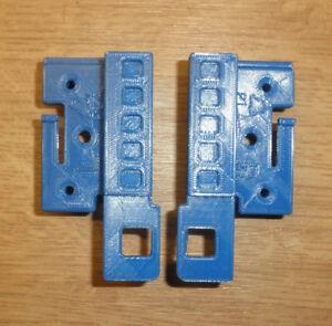 Blendenbeschlag, -halterung Schublade Ersatzteil Blende 5382 links+rechs