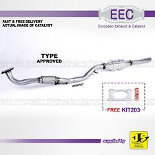 EEC CATALYST VK6016T TYPE APPROVED SEAT SKODA FABIA VW POLO 1.4 16V FREE KIT