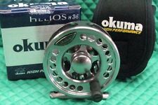 NEW Okuma Helios Fly Fishing Reel Waterproof Drag System Line Weight 3/4 H34