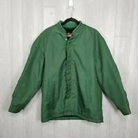 Vintage Mens SEARS Green Lined Mens Jacket Coat Size 42 Regular USA