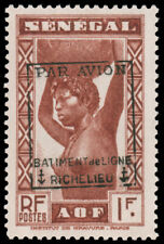Senegal #Mi176 I MHR EUR650.00 Liberation RICHELIEU [Signed Sanabria]