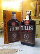 Amaro Tilus al tartufo anni 70 43% 75cl con Box