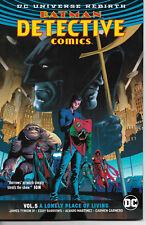 DC Universe Rebirth- Batman Detective Vol 5 A Lonely Place of Living  SC TPB-NEW