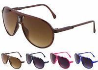 Wholesale 12 Pair Plastic Aviator Sunglasses - Assorted Colors