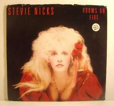 STEVIE NICKS , Rooms on Fire ,PROMO 45rpm ,PIC SLEEVE, EXCELLENT , Fleetwood Mac