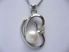 Collar de joyería blanca de platino