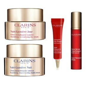 Clarins Nutri-Lumiere Day & Night Cream - Norm skin - New - value $500 more