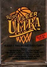 1994-95 Fleer Ultra NBA Trading Cards 24 Sealed Jumbo Packs-Series 1