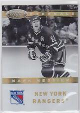 2011 11-12 Certified Eternals Mirror Gold #6 Mark Messier 09/25