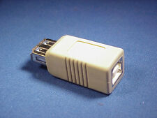 USB A type Female to USB B type Female Adapter