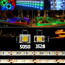 5m 5050/3528SMD Led Strip Fairy Lights Super Flexible Bright Lamp EU Plug 12V 2A