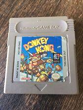 ¤ Donkey Kong ¤ (Game Cart) GREAT Game Boy GBA