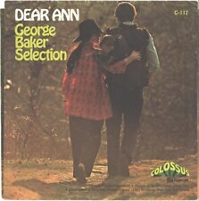 GEORGE BAKER SELECTION--PICTURE SLEEVE ONLY---(DEAR ANN)---PS---PIC---SLV