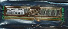 1 X 1 GB oro OCZ OCZ2G8002GK PC2 6400 800 MHz Series Ram