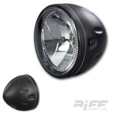 Motorrad Scheinwerfer  5 3/4 Zoll Skyline schwarz LED Standlicht universal